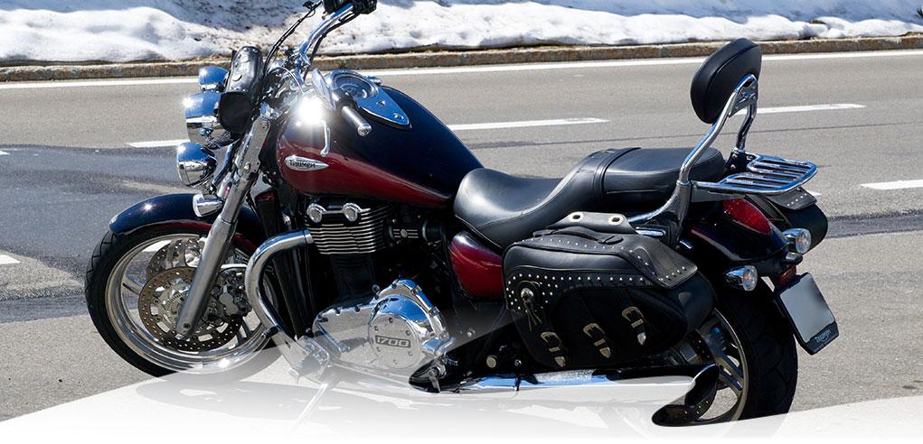 Motoradfahren