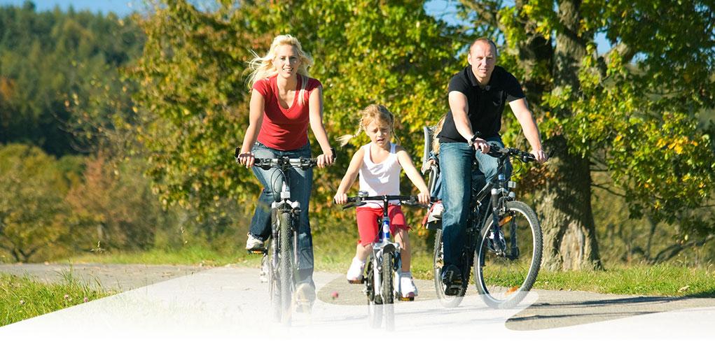 Fahrrad-Kinder
